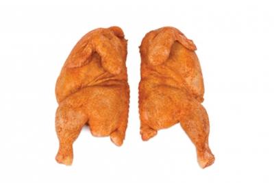 Gà nửa con, tẩm ướp ( gà mềm )