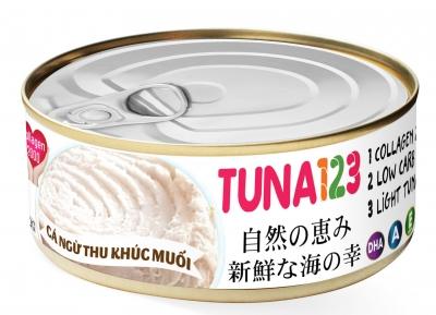 Cá ngừ cắt khúc muối