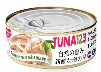 Cá ngừ ngâm dầu olive