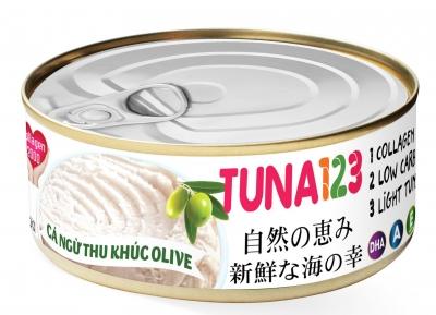 Cá ngừ cắt khúc dầu olive